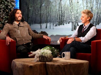 Russell Brand, Ellen DeGeneres