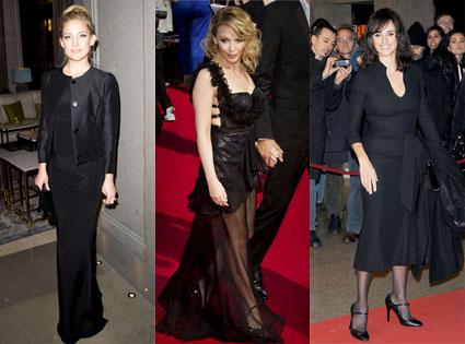 Kate Hudson, Penelope Cruz, Kylie Minogue