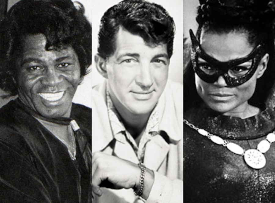 James Brown, Dean Martin, Eartha Kitt