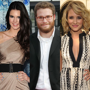 Kendall Jenner, Seth Rogen, Dianna Agron