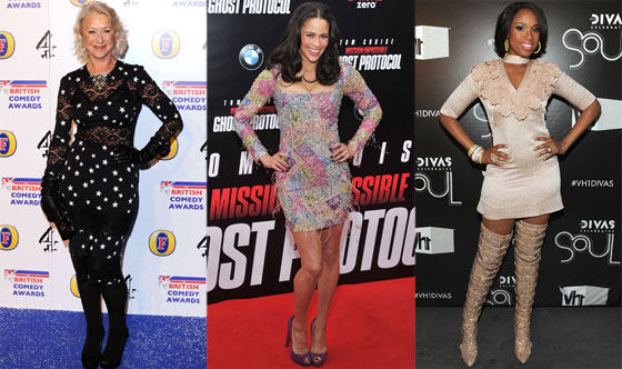 Helen Mirren, Jennifer Hudson, Paula Patton