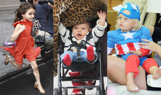 Suri Cruise, Flynn Bloom, Zuma Rossdale