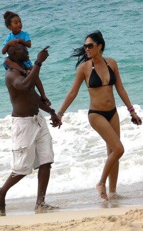 Kimora Lee, Dijimon Hounsou, Kenzo Lee Hounsou