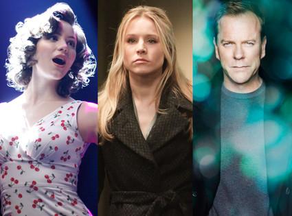Kiefer Sutherland, Touch, Katharine McPhee, Smash, Kristen Bell, House of Lies