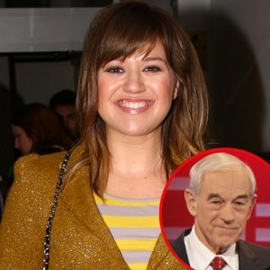 Kelly Clarkson,Ron Paul