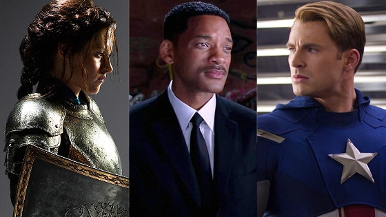 Snow White, Men in Black 3, The Avengers