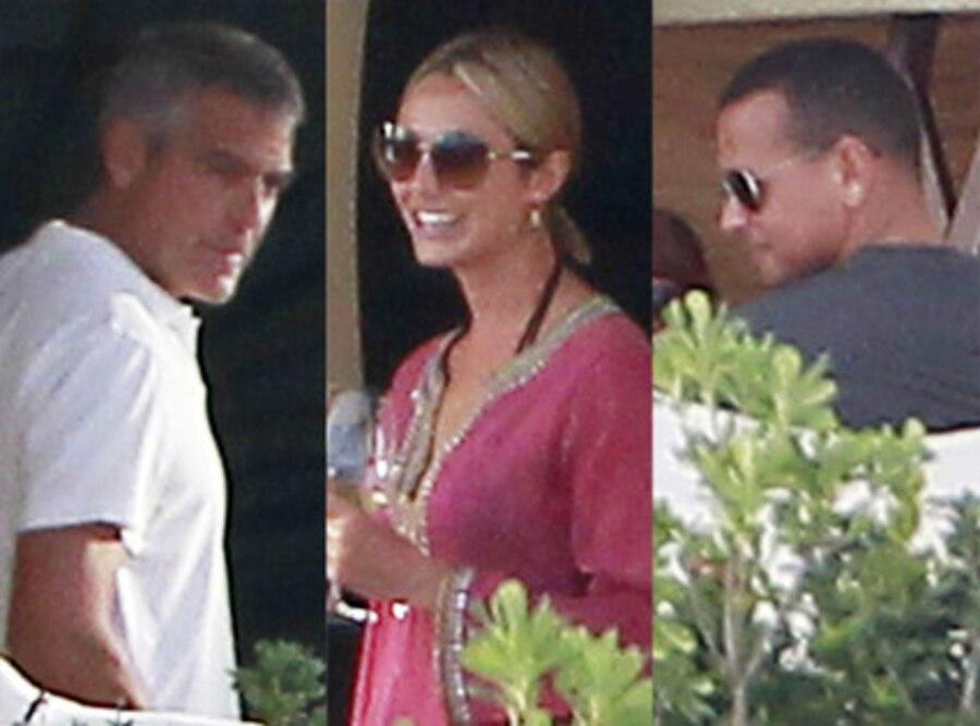 George Clooney, Stacy Keebler, Alex Rodriguez
