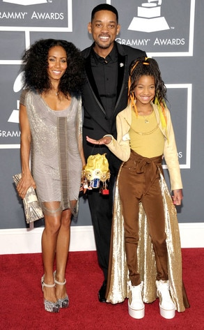 Jada Pinkett Smith, Will Smith, Willow Smith