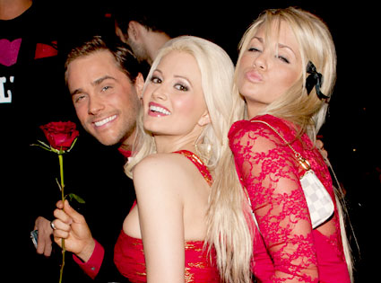 Josh Strickland, Holly Madison, Angel Porrino