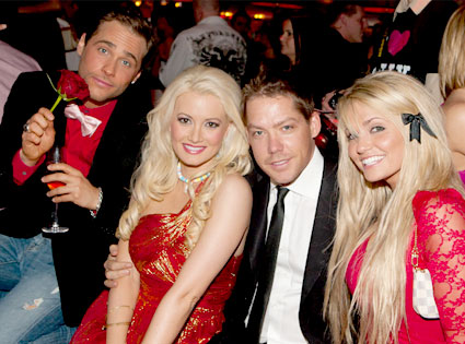 Josh Strickland, Holly Madison, Cy Waits, Angel Porrino