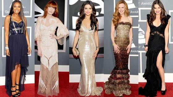 Jennifer Hudson, Florence Welch, Selena Gomez, Nicole Kidman, Lea Michele
