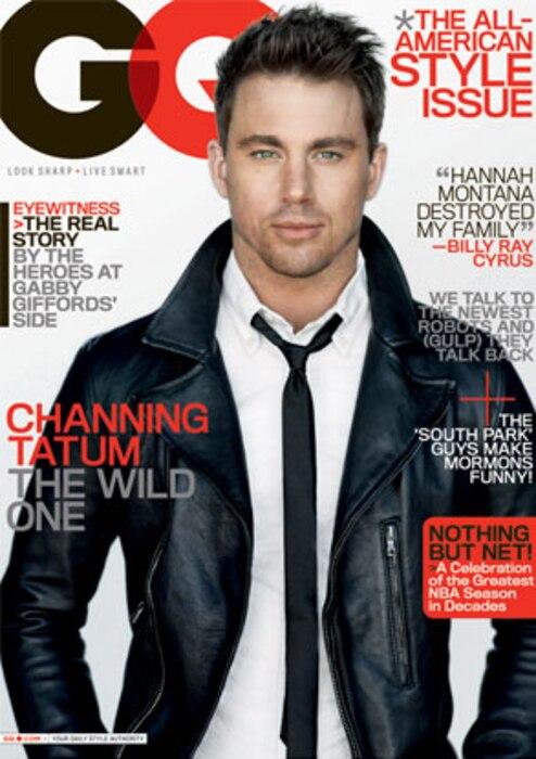Channing Tatum, GQ Magazine