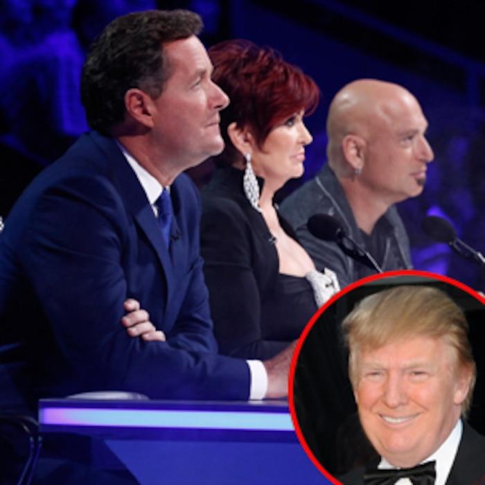Americas Got Talent, Piers Morgan, Sharon Osbourne, Howie Mandel, Donald Trump