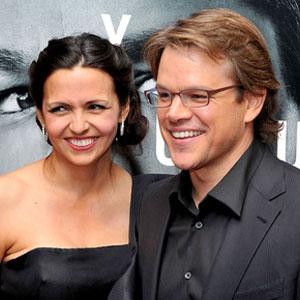 Luciana Bozan Barroso, Matt Damon
