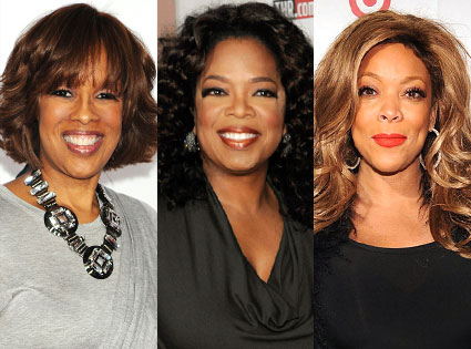 Oprah, Wendy Williams, Gayle King