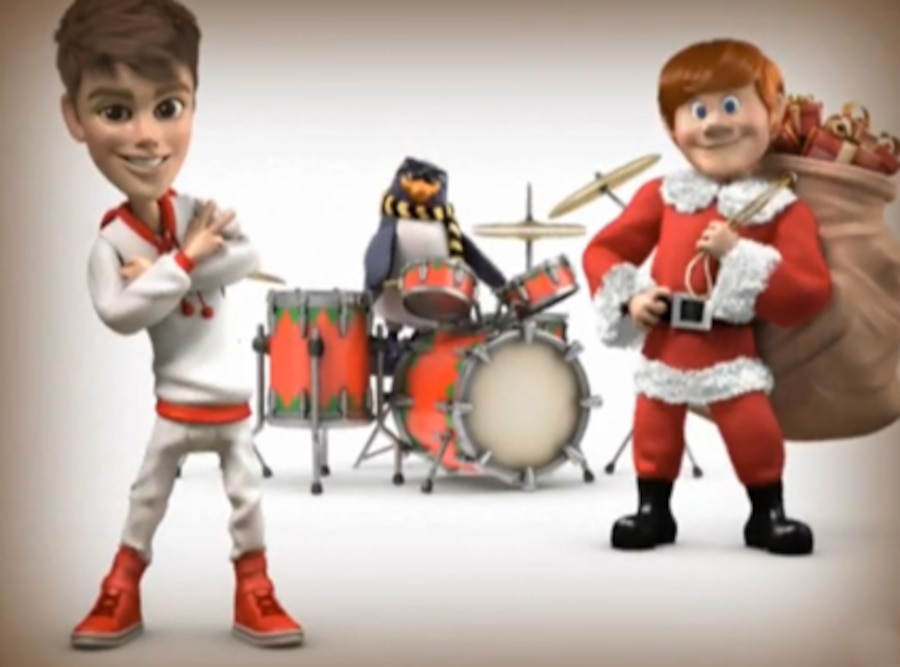 Justin Bieber, Santa Claus is Comin' to Town