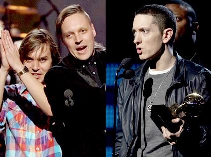 Arcade Fire, Eminem