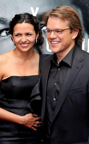 Matt Damon & Lucia...