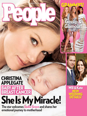 Christina Applegate, People Magazine Cover