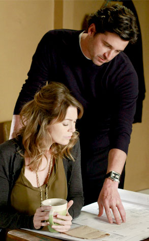 Ellen Pompeo, Patrick Dempsey, Greys Anatomy