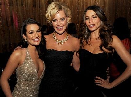 Lea Michele, Katherine Heigl, Sofia Vergara
