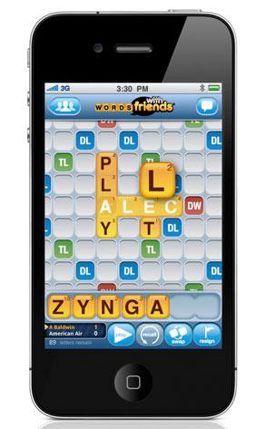 Zynga's Words With Friends