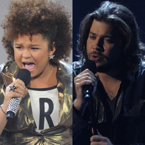 THE X FACTOR, Josh Krajcik, Rachel Crow