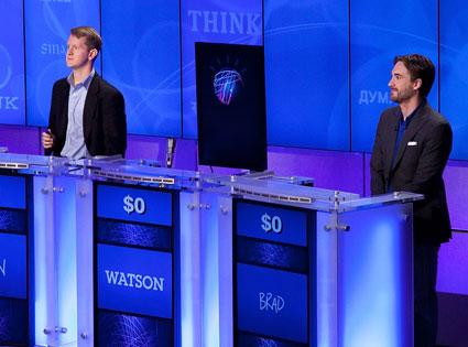Ken Jennings, Brad Rutter, Watson