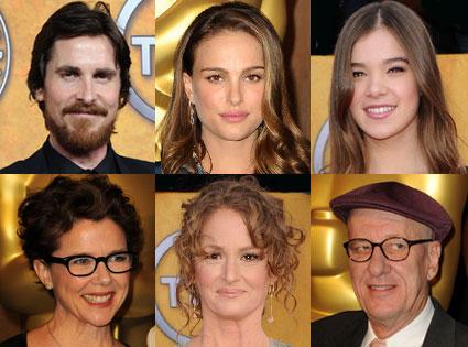 Natalie Portman, Annette Bening, Christian Bale, Geoffrey Rush, Melissa Leo, Hailee Steinfeld