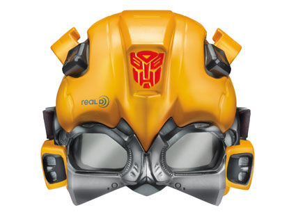 Cine Mask Bumblebee Transformers 3D Mask