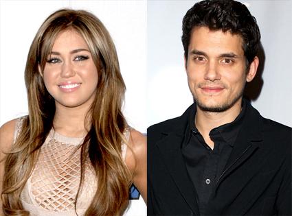 Miley Cyrus, John Mayer