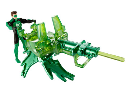 Green Lantern Deluxe Battle Shifters Figures Hal Jordan With Buzzsaw