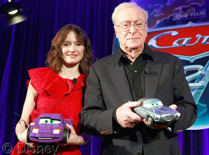 Emily Mortimer, Sir Michael Caine