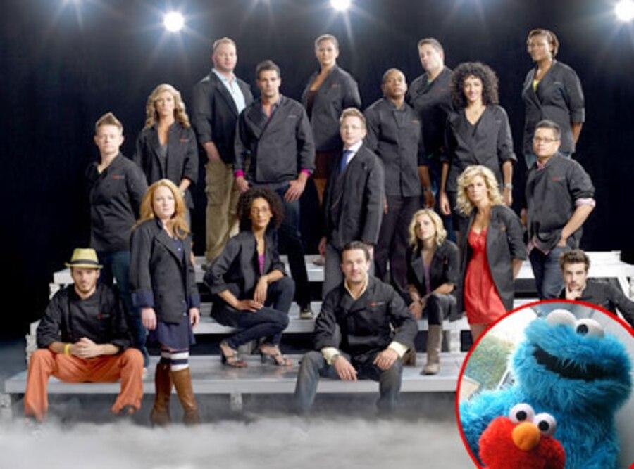 Top Chef Allstars, Elmo, Cookie Monster