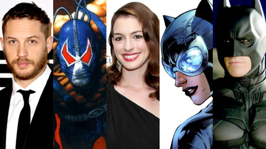 Tom Hardy, Bane, Anne Hathaway, Catwoman, Christian Bale