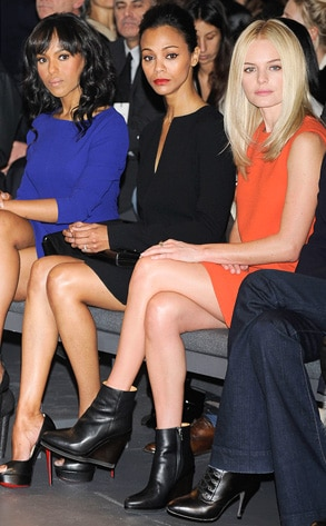 Kerry Washington, Zoe Saldana, Kate Bosworth