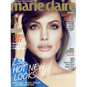 Angelina Jolie, Marie Claire
