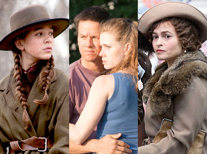 Hailee Steinfeld, True Grit, Amy Adams, The Fighter, Helena Bonham Carter, The Kings Speech