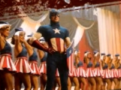 Captain America, USO Song, Stat Spangled Man
