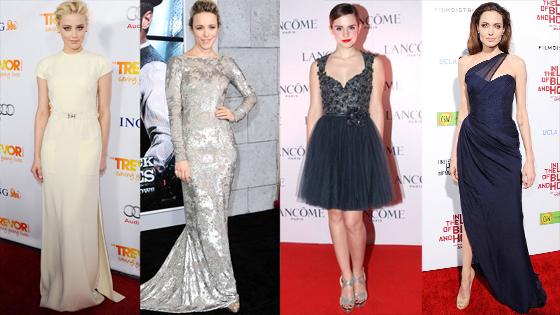 Amber Heard, Elizabeth Banks, Emma Watson, Angelina Jolie