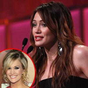 Carrie Underwood, Hilary Duff