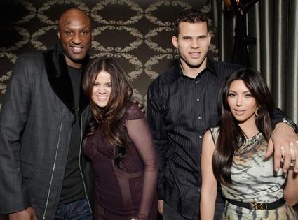 Kris Humphries, Kim Kardashian, Khloe Kardashian, Lamar Odom