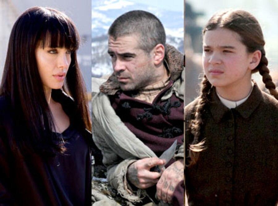 Angeline Jolie, Salt, Colin Farrell, The Way Back, Hailee Steinfeld, True Grit