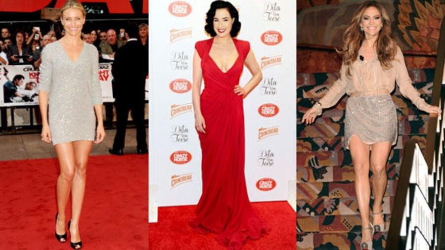 Cameron Diaz, Dita Von Teese, Jennifer Lopez