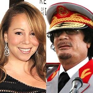 Mariah Carey, Moammar Gadhafi