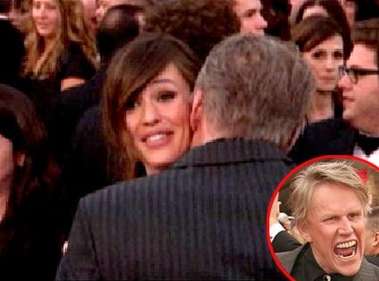 Jennifer Garner, Gary Busey
