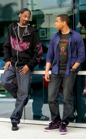 Snoop Dogg, Tristan Wilds, 90210