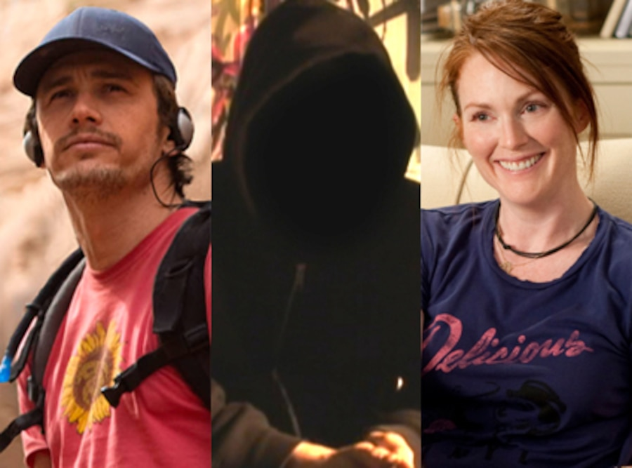 James Franco, 127 hours, Banksy, Exit Through the Gift Shop, Julianne Moore, The Kids are Alright
