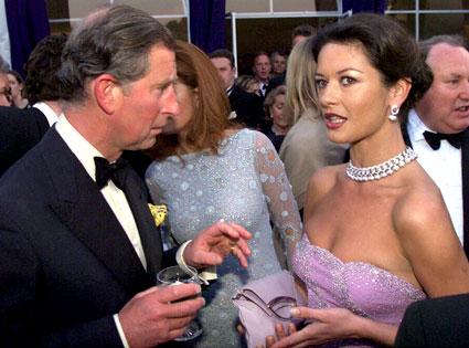 Prince Charles, Catherine Zeta Jones