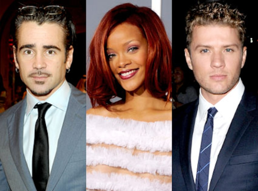 Colin Farrell, Rihanna, Ryan Philippe